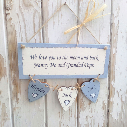 We Love You To The Moon And Back - Personalised